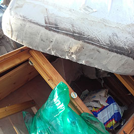 Abfälle aus Entrümpelungen