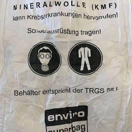 Künstliche Mineralfasern (Glaswolle)